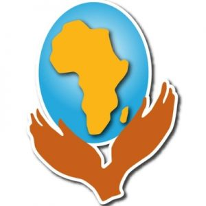 African Women's Alliance logo - two hands holding the world