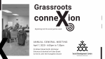 Poster for SDCWR AGM