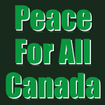Peace For All Canada logo